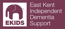 Logo for East Kent Independent Dementia Support