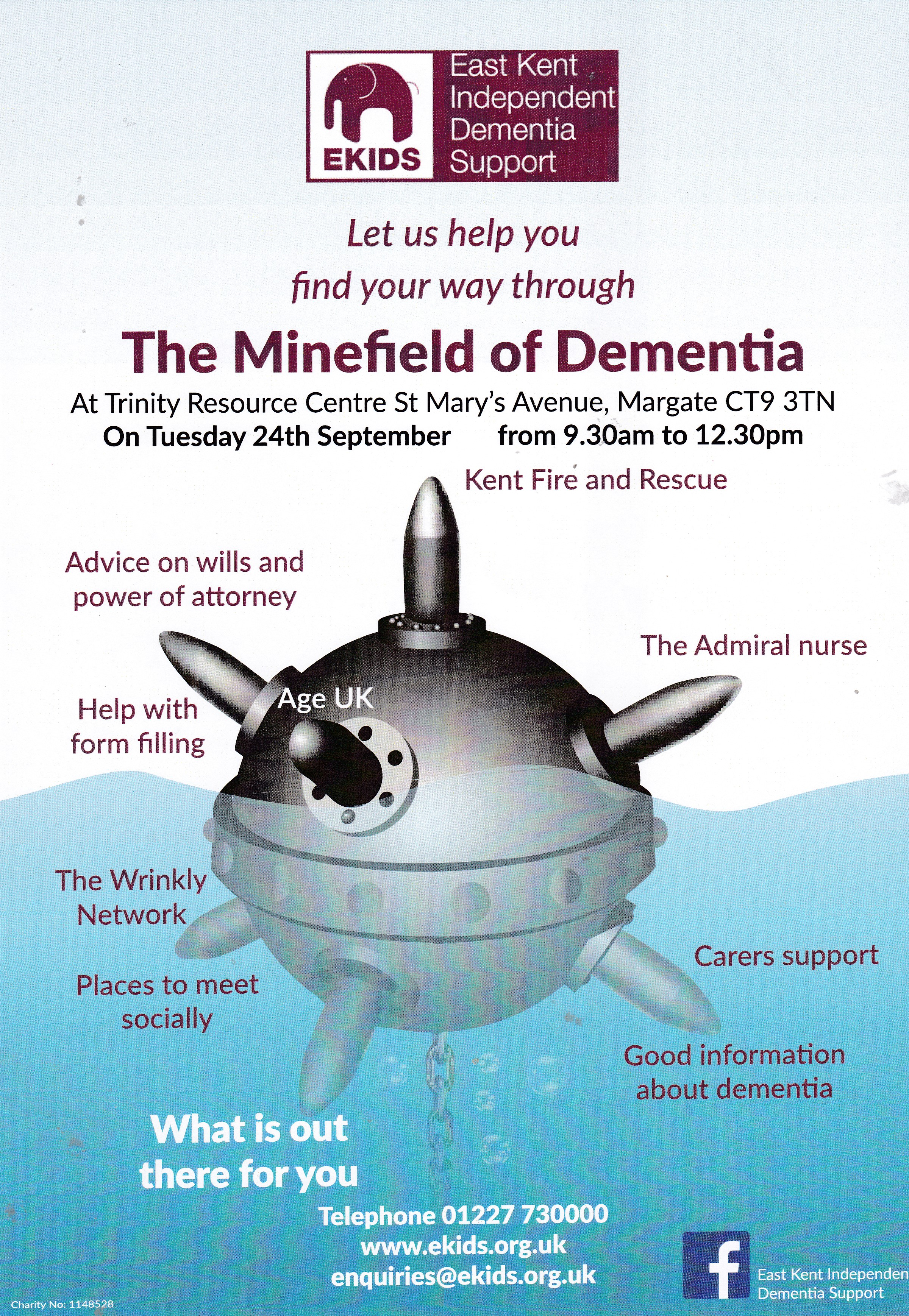 The minefield of dementia - EKIDS Event 24th September